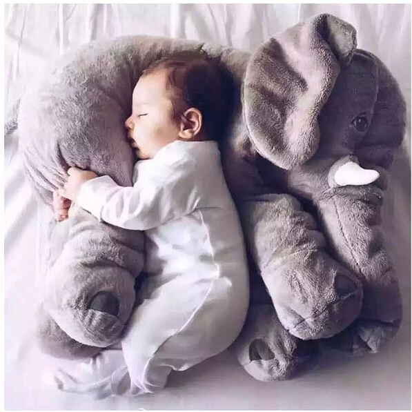 療癒系大象嬰兒抱枕