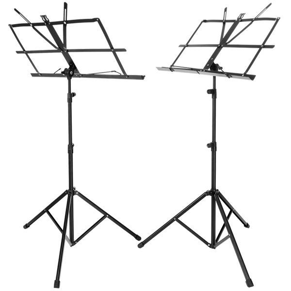 Adjustable Folding Music Stand Metal Sheet Tripod Holder With Carrying Bag 0