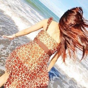 美麗大街【SW70706】豹紋平口二件套泳衣泳裝(咖啡色)