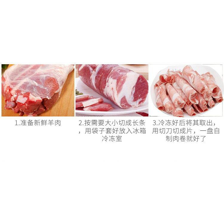 多功能牛羊肉切片機手動切肉機家用商用涮羊肉肥牛肉捲刨肉送刀片 ATF 7