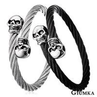 【GIUMKA個性潮男】黑暗世界德國精鋼鋼索鋼絲彈性手環 個性潮男款 單個價格 任選2款 MB00657