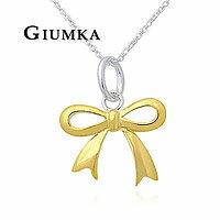 【GIUMKA】手工設計款 925純銀Silver蝴蝶結項鍊 金色/銀色 單個價格 MN456-1/-2