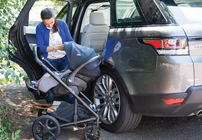 【買就送滑步車】JOIE  i-Level  ISOFIX  嬰兒提籃汽座 灰色 JBD82100A 4