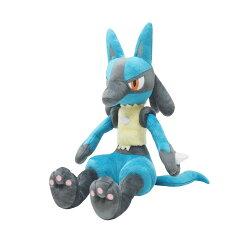 尼德斯Nydus~* 日本正版 神奇寶貝 精靈寶可夢 Pikachu 皮卡丘 絨毛玩偶 娃娃 路卡利歐 約33cm
