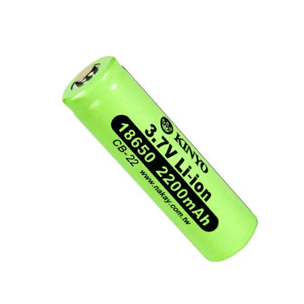 KINYO耐嘉CB-2218650鋰充電電池充電電池蓄電池可充電電池二次電池【迪特軍】