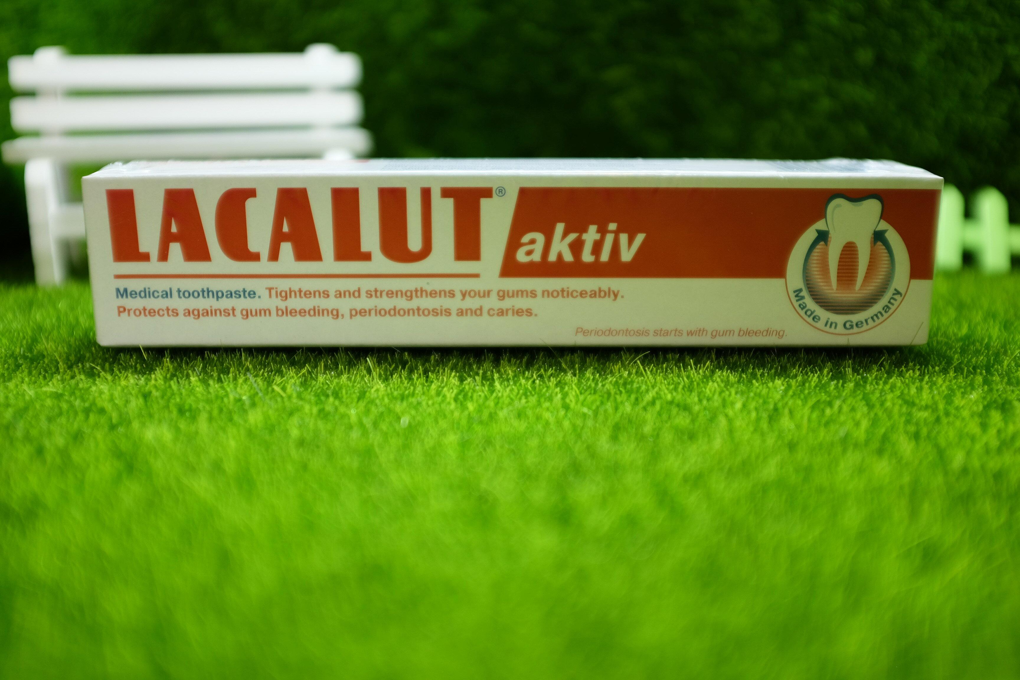 樂固特 牙齦強化牙膏 90g#LACALUT