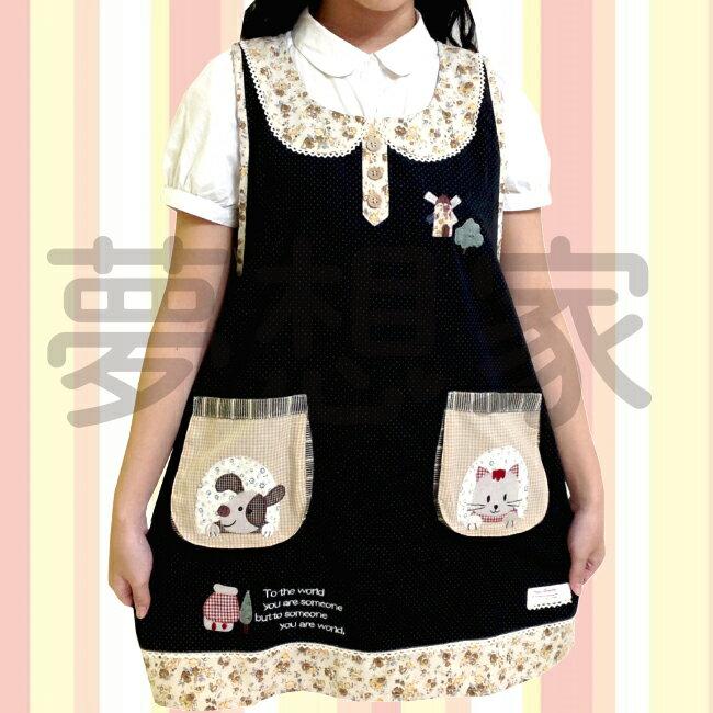 日式和風拼布 圍裙 風車 《 雙口袋設計 》 ★超有質感喔★ 夢想家 Zakka\