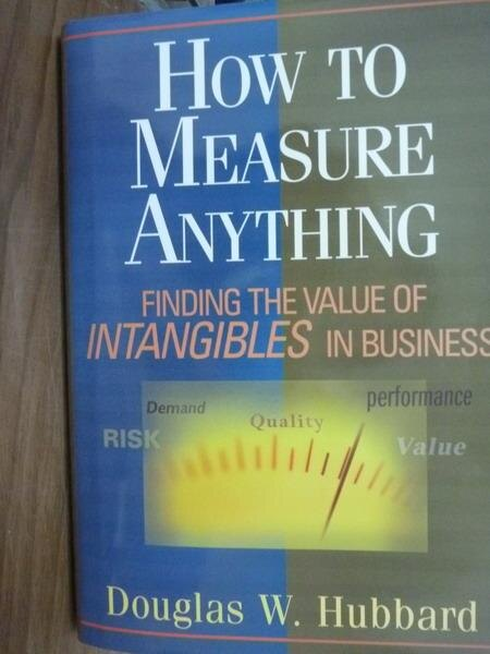 ~書寶 書T5/原文書_PFS~How to Measure Anything_Hubba