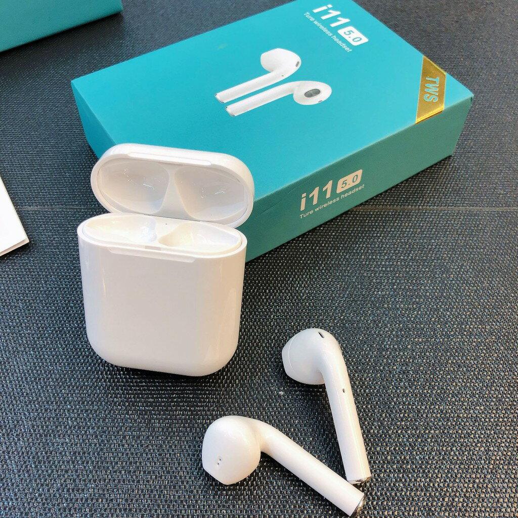TWS i11 無線耳機 藍芽耳機 藍牙耳機 重低音 安卓 蘋果通用 觸控式 運動
