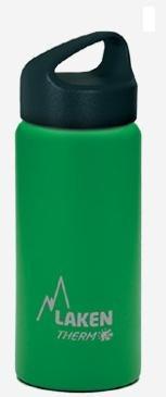 【鄉野情戶外專業LAKEN  西班牙  Classic不鏽鋼保溫瓶 / 不鏽鋼保溫水壺 500ml  綠 TA5V