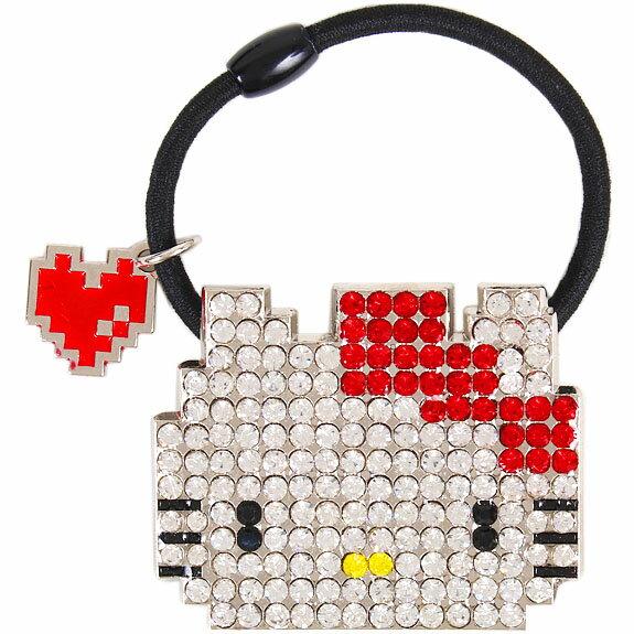 <br/><br/>  X射線【C516959】Hello Kitty 髮束,髮飾/髮夾/髮圈/髮箍/髮束/頭飾/髮插/髮簪<br/><br/>