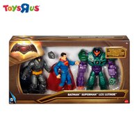 蝙蝠俠與超人周邊商品推薦玩具反斗城  蝙蝠俠vs超人 6吋造型3入裝系列
