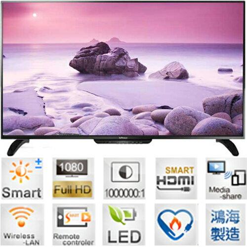 InFocus 超視? XT-60CM802 LED液晶電視 60吋 日本?十代面板 1080P Full HD