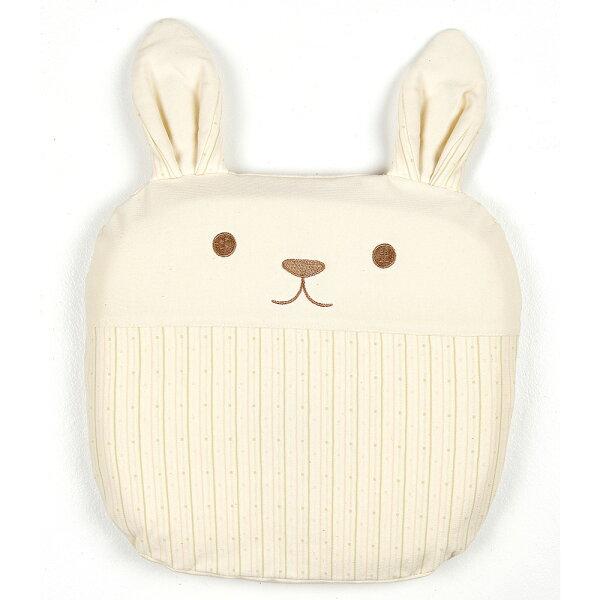 【麗嬰房】Lesenphants有機棉透氣護頸動物枕-兔子