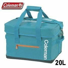 [ Coleman ] 20L Elite水藍冷袋 / 行動冰箱 / 軟式保冰袋 / 公司貨 CM-6600J
