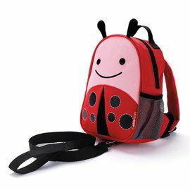 【淘氣寶寶】美國 SKIP HOP 可愛動物園 ZOO-LET 迷你防走失背包~附防走失帶(甲蟲/Ladybug)