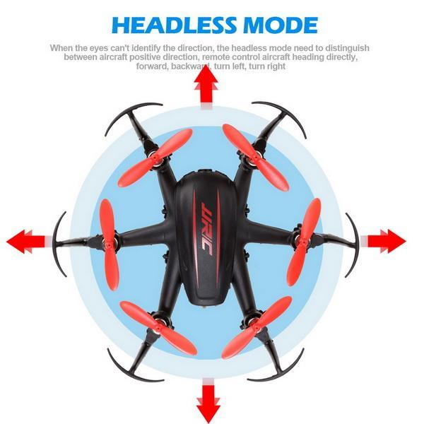 H20C 2.4G 4 Channels 6-Axis Gyro Lights Eversion RC Hexacopter 2.0MP Camera 1