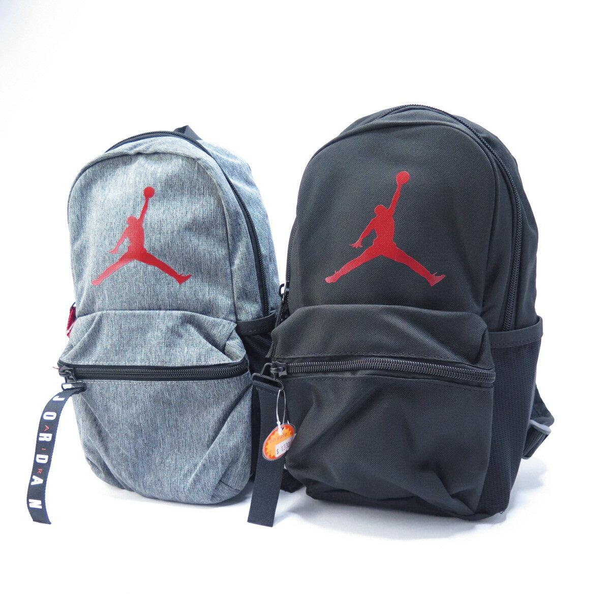 JORDAN 雙肩後背包 中款 JD2013010TD00- 2色 正黑/岩灰 【iSport愛運動】