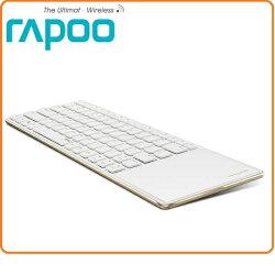 Rapoo 雷柏 E6700 金/黑 兩色款  藍芽超薄觸控式鍵盤