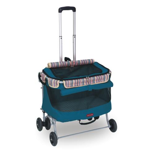 沛德奧Petstro寵物拉箱/貓籠-215A輕旅行系列-加大型-二代 (靛藍)