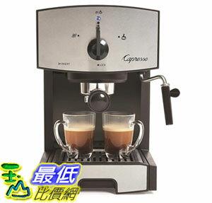 [7美國直購] 咖啡機 Capresso 117.05 Stainless Steel Pump Espresso and Cappuccino Machine EC50 Black/Stainless