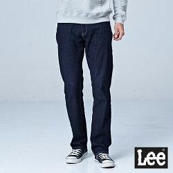 Lee 743中腰舒適直筒牛仔褲-深藍色-男款