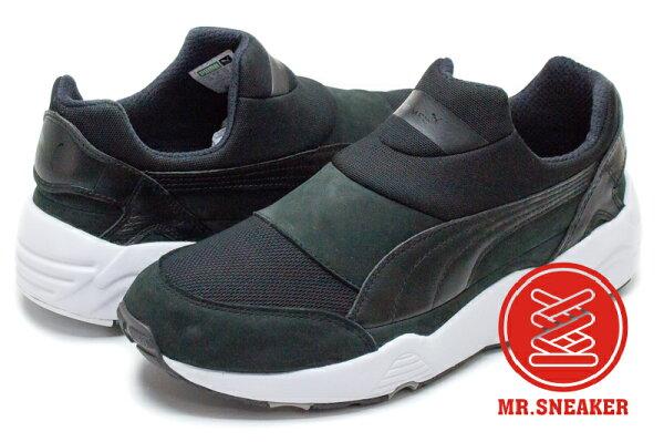 ☆Mr.Sneaker☆PumaTrinomicSockNMXStampd限量聯名襪套式免鞋帶黑色男款