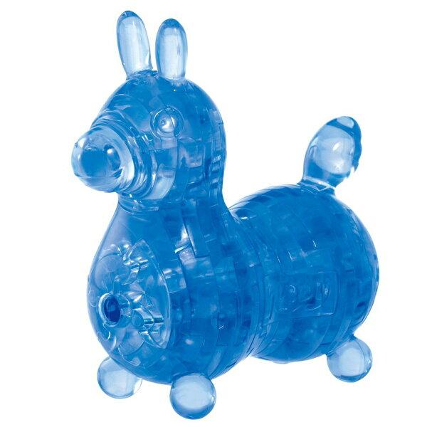 《3DCtystalGalley》立體水晶拼圖-藍色RODY立體水晶拼圖