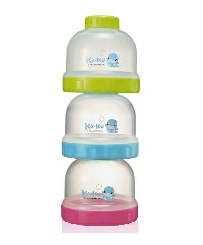 【全系列滿$500送夜燈玩具】台灣【Kuku 酷咕鴨】聰明副食品奶粉罐 - 限時優惠好康折扣