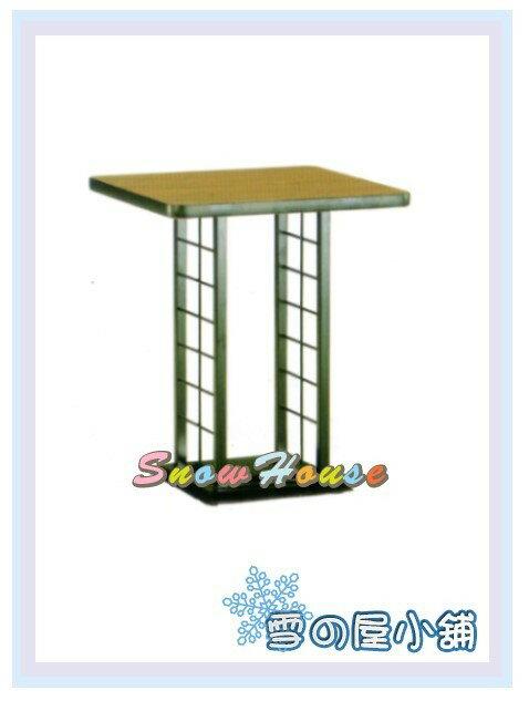 ╭☆雪之屋居家生活館☆╯AA830-07/15/23 西餐桌717B(烤黑腳/黑邊/寬60cm)/置物桌/三色可選