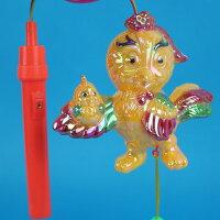 雞年燈籠 小雞仔 手提音樂燈光小燈籠(有音樂)【一袋50個入】 促[#60]元宵燈籠~富78