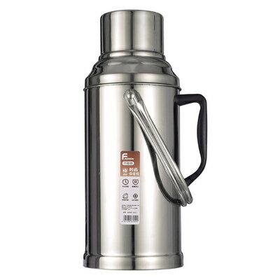 保溫壺 家用不銹鋼熱水瓶外殼暖水瓶大容量暖水壺保溫瓶開水瓶玻璃內膽『SS4638』