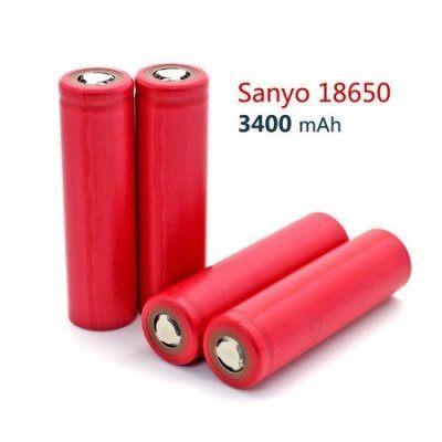 日本三洋全新進口18650鋰電池 3400 mAh3.7v大容量充電電池 三洋3400 非松下3400