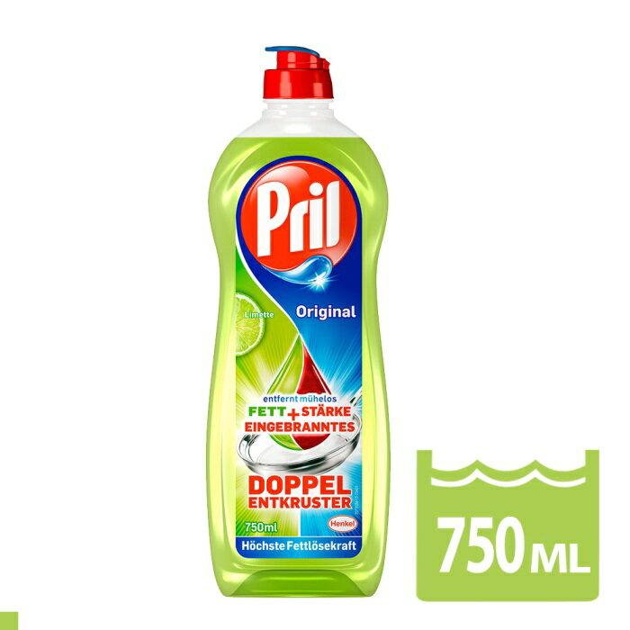 【Pril】原裝進口 濃縮高效能洗碗精 750ml(檸檬清香) 廚房/生活日用品