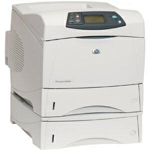 HP LaserJet 4350DTN Laser Printer - Monochrome - 1200 x 1200 dpi Print - Plain Paper Print - Desktop - 55 ppm Mono Print - Letter, Legal, Executive, Statement, Envelope No. 10, Monarch Envelope, Custom Size, Custom Size - 1100 sheets Standard Input Capaci 1
