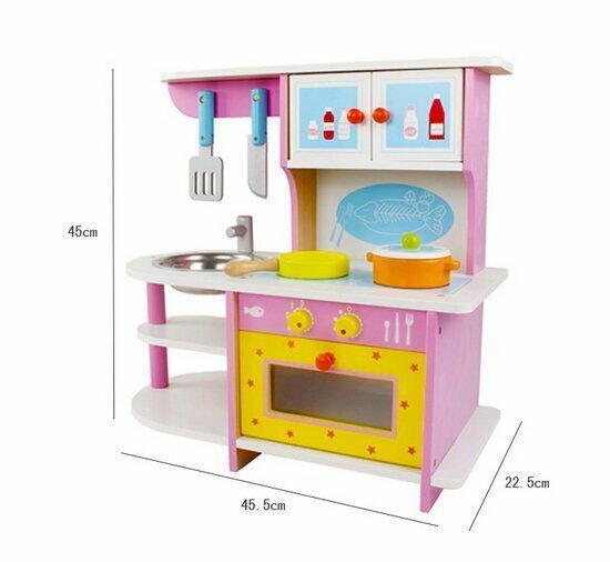 花生什麼樹:兒童仿真廚房組煤氣灶台附有烤箱組扮家家酒玩具迷你廚房生日交換禮物【PT103】