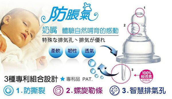 『121婦嬰用品館』辛巴 防脹氣標準圓孔奶嘴 L 4入 1