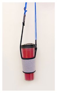 【aifelife】飲料提袋加長背帶飲料杯環保杯冰霸杯袋延長可調節背帶