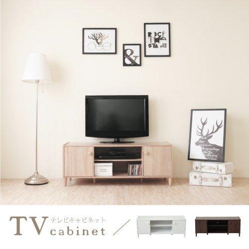 生活大發現-H-和風原木系二門電視櫃(淺像木) 電視/收納/櫃子/台灣製造