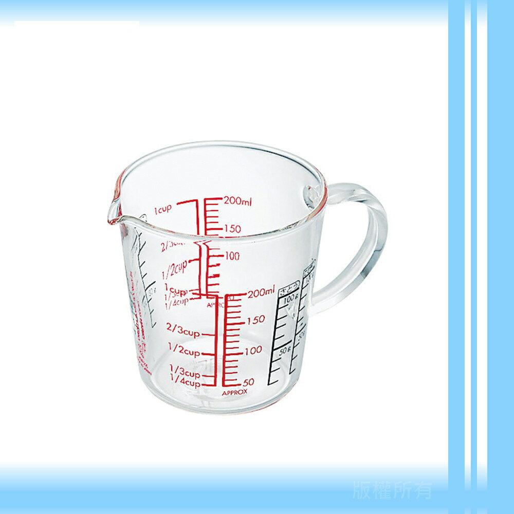 【日本】HARIO玻璃量杯(約200ml)