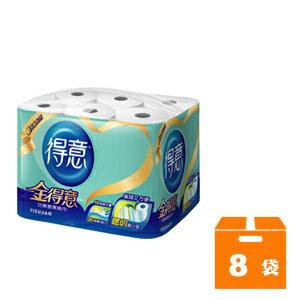 金得意 巧撕廚房紙巾 (112組x6捲x8袋)/箱