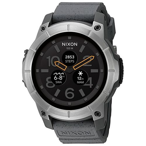 Nixon The Mission Smartwatch 48mm Polycarbonate - Gray 0