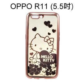 HelloKitty電鍍軟殼[小熊]OPPOR11(5.5吋)【三麗鷗正版授權】