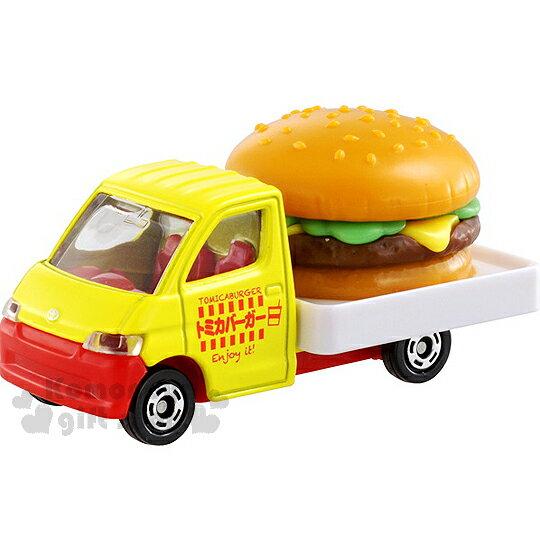 〔小禮堂〕TOMICA小汽車《橘黃.豐田漢堡車.54》經典蒐藏