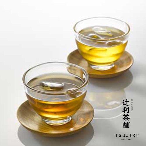【辻利茶舗 x HARIO】耐熱湯吞小茶杯2入組。高品質耐熱玻璃製成,可耐熱120度。冷熱飲皆可使用,亦適用於烤箱與微波爐。原廠公司貨。 2