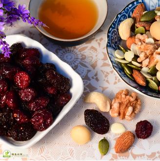 福昌食品-素食-八寶堅果(8 Treasure)-450g/袋-(腰果、核桃仁、夏威夷豆、杏仁果、光中杏、南瓜仁、葡萄乾、蔓越莓)