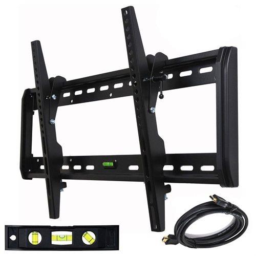 "VideoSecu Tilt TV Wall Mount for Samsung 32 37 39 40 46 50 51 55 60 64 65 75"" LED LCD Plasma Flat Panel Screen 1QH 0"