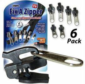 【省錢博士】TV拉鍊頭 / Fix A Zipper 6 Pack Fix / 萬能拉鍊頭 49元