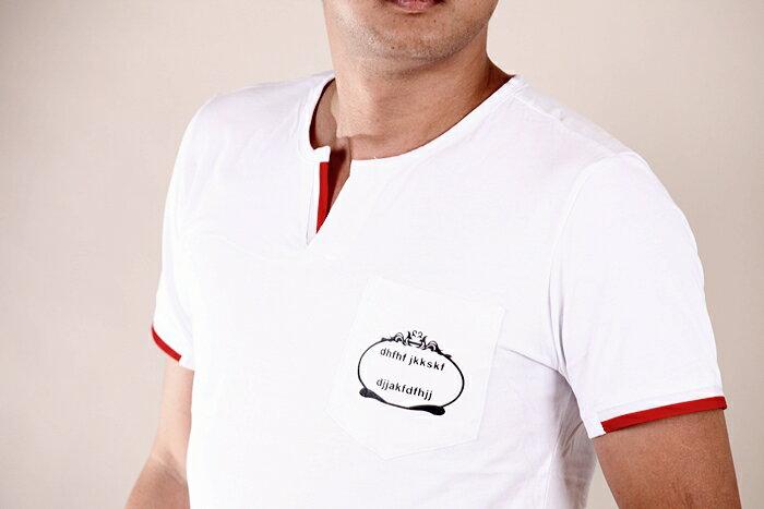 【CS衣舖 】韓系 合身版 萊卡彈力 短袖T恤 3204 3