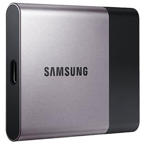 Samsung T3 Portable 2TB SSD 2.0TB USB 3.1 External Solid State Drive MU-PT2T0B 0
